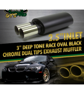 Remus Muffler - Quad 76mm Round Tips